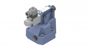 Zawory sterujące ciśnieniem redukcyjne zawory redukcyjne płytowe/gwintowe/nabojowe, proporcjonalne sterowane pośrednio  WZRPE