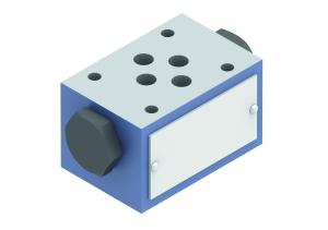 Cut-off/check valves check valves pilot-operated sandwich twin